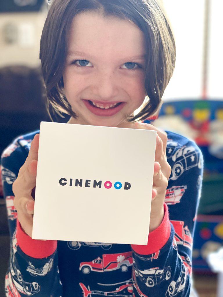 boy holding Cinemood