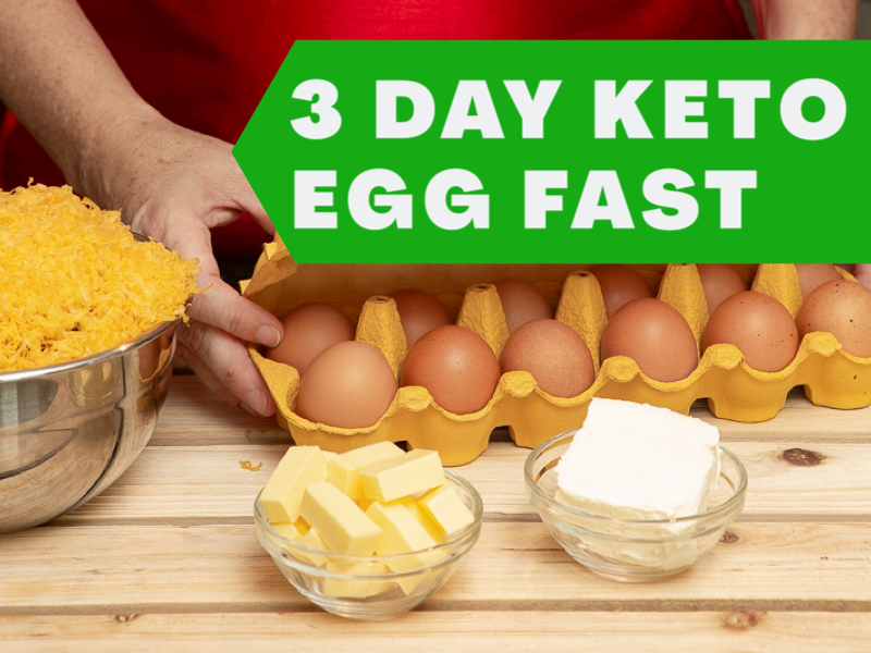 How to do the 3 Day Keto Egg Fast + Recipes