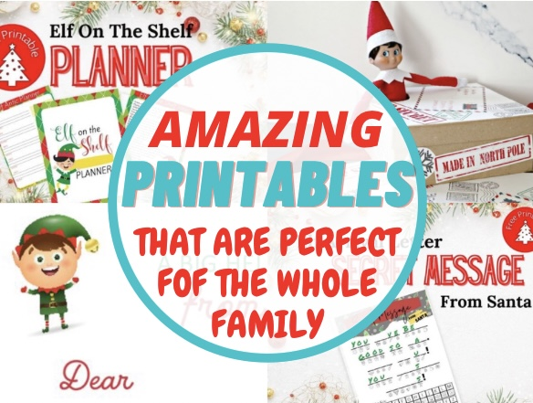 Amazing Elf on the Shelf Printables for the Whole Family to Enjoy