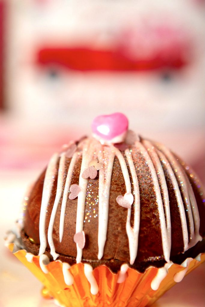 pink cocoa bomb