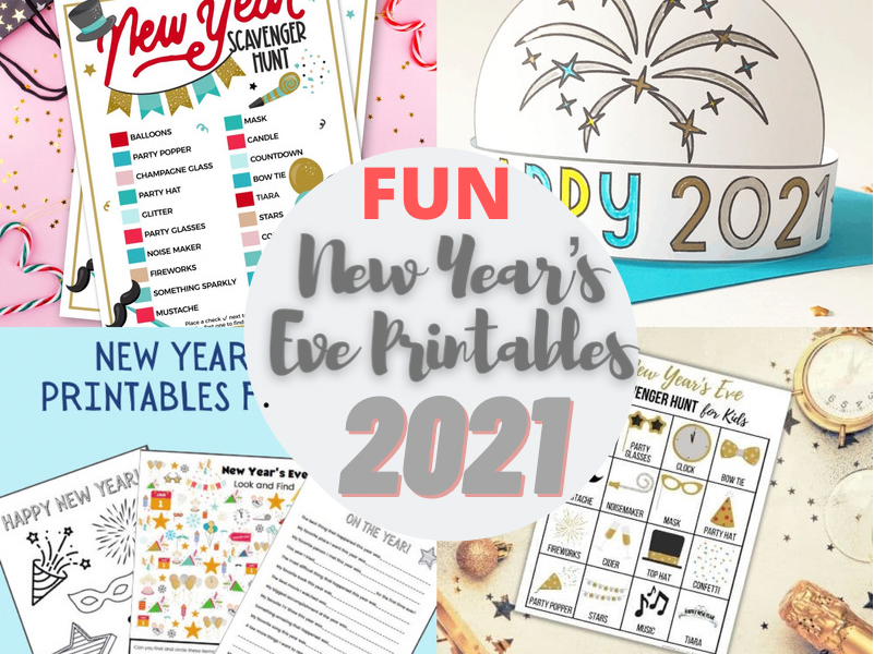 New Year's Eve printables