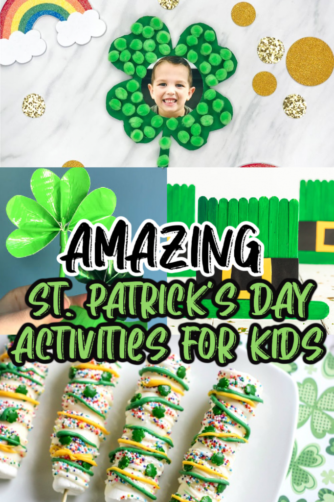 pin for St. Patrick's Day activities for kids