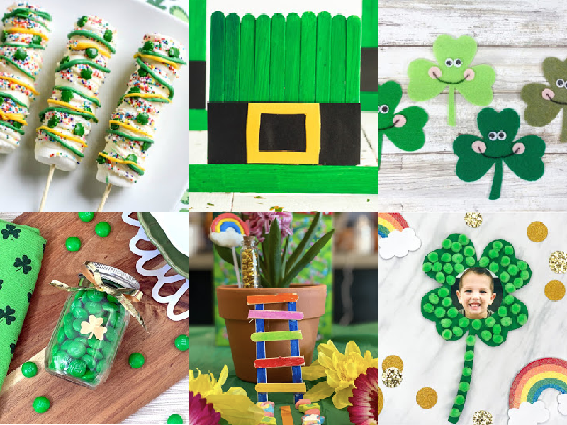 hero image for St. Patrick's Day activities for kids