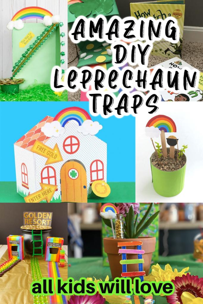 Leprechaun Traps pin