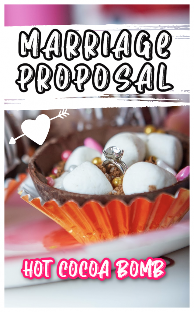 Pin for Marriage Proposal