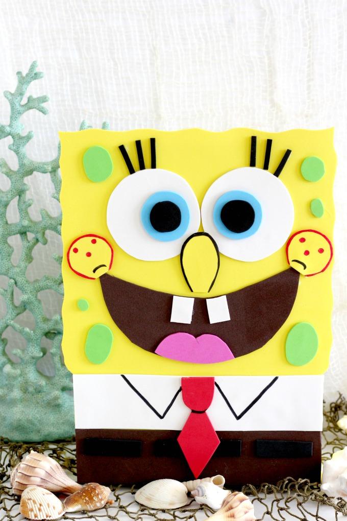 Spongebob  Valentine's Box