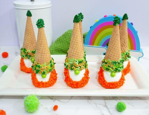 Leprechaun St. Patrick's Day Gnome Treats