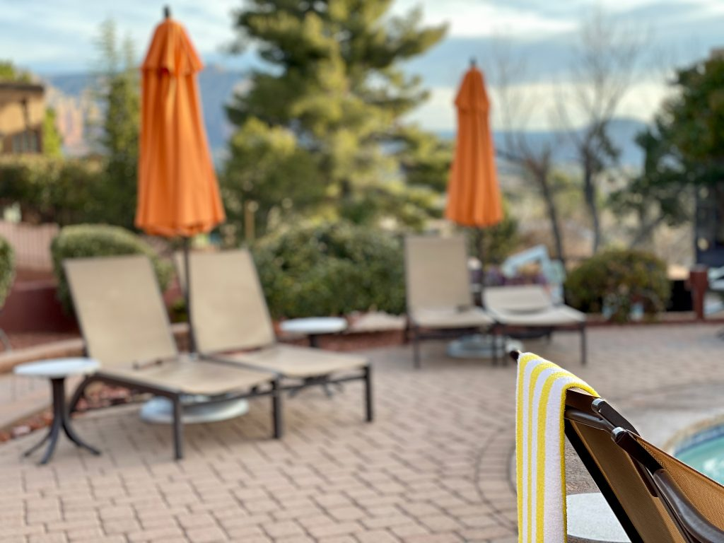 pool at Hilton Sedona