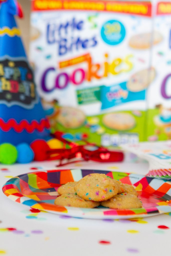 Entenmann's Little Bites® Soft Baked Cookies with party hat