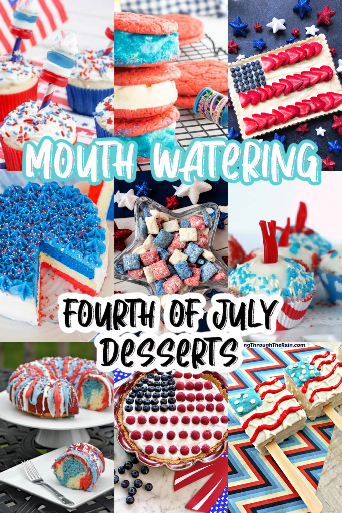 pin for fourth of july desserts