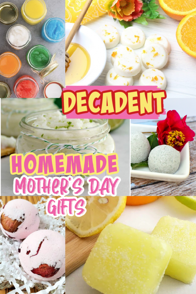 homemade mothers day gift collage