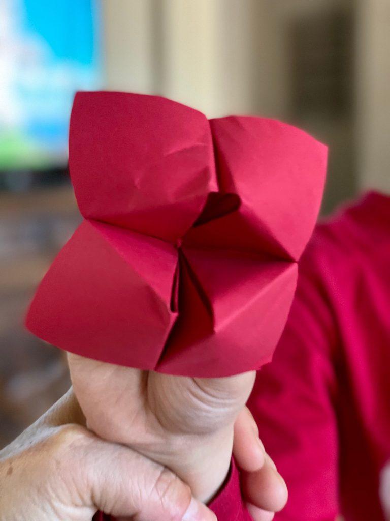 red fortune teller