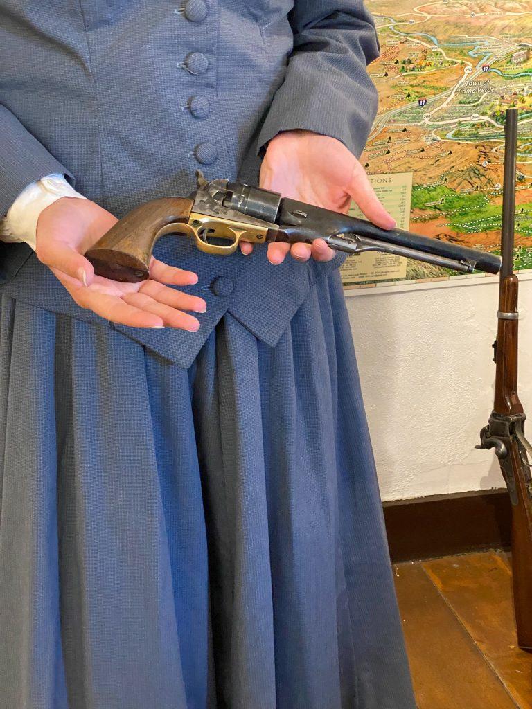 gun from Fort Verde