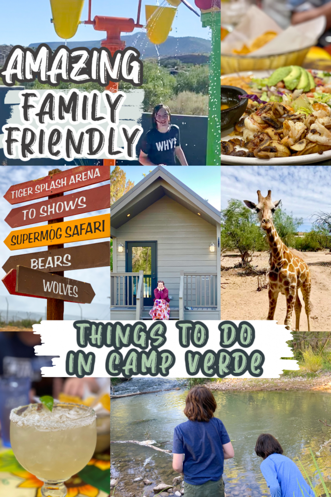 Amazing Family Friendly Things to do in Camp Verde collage