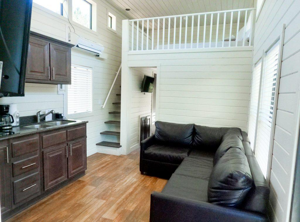 cabin living room