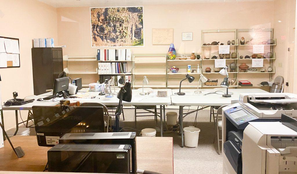 lab at Verde Archeology Center