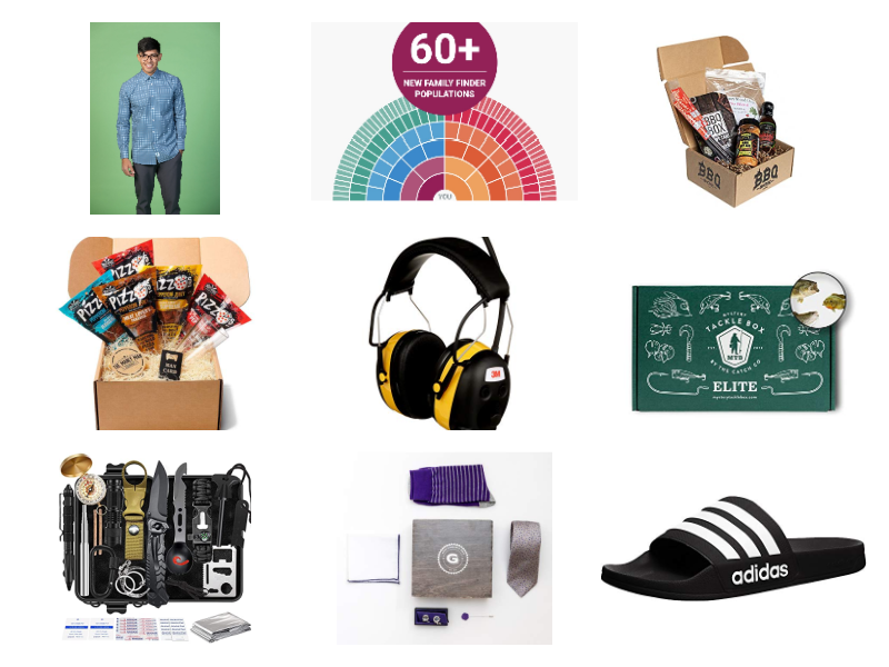 mens gifts collage
