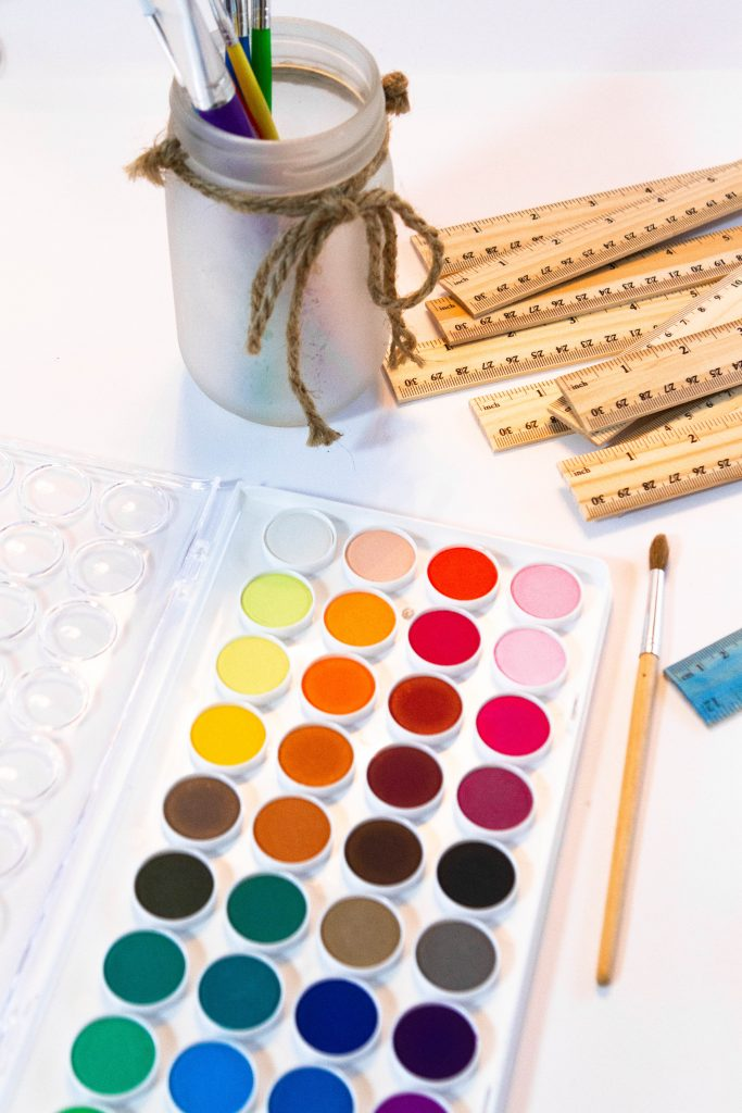 paints and rulers