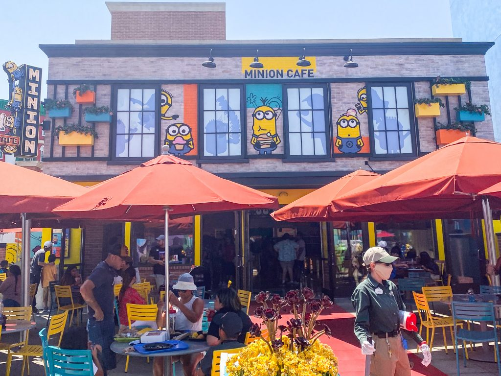 Front of the Minion Cafe