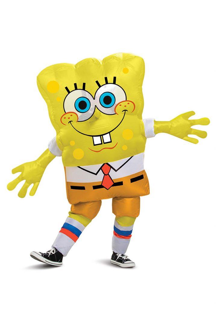 Spongebob Squarepants Inflatable Costume for Kids