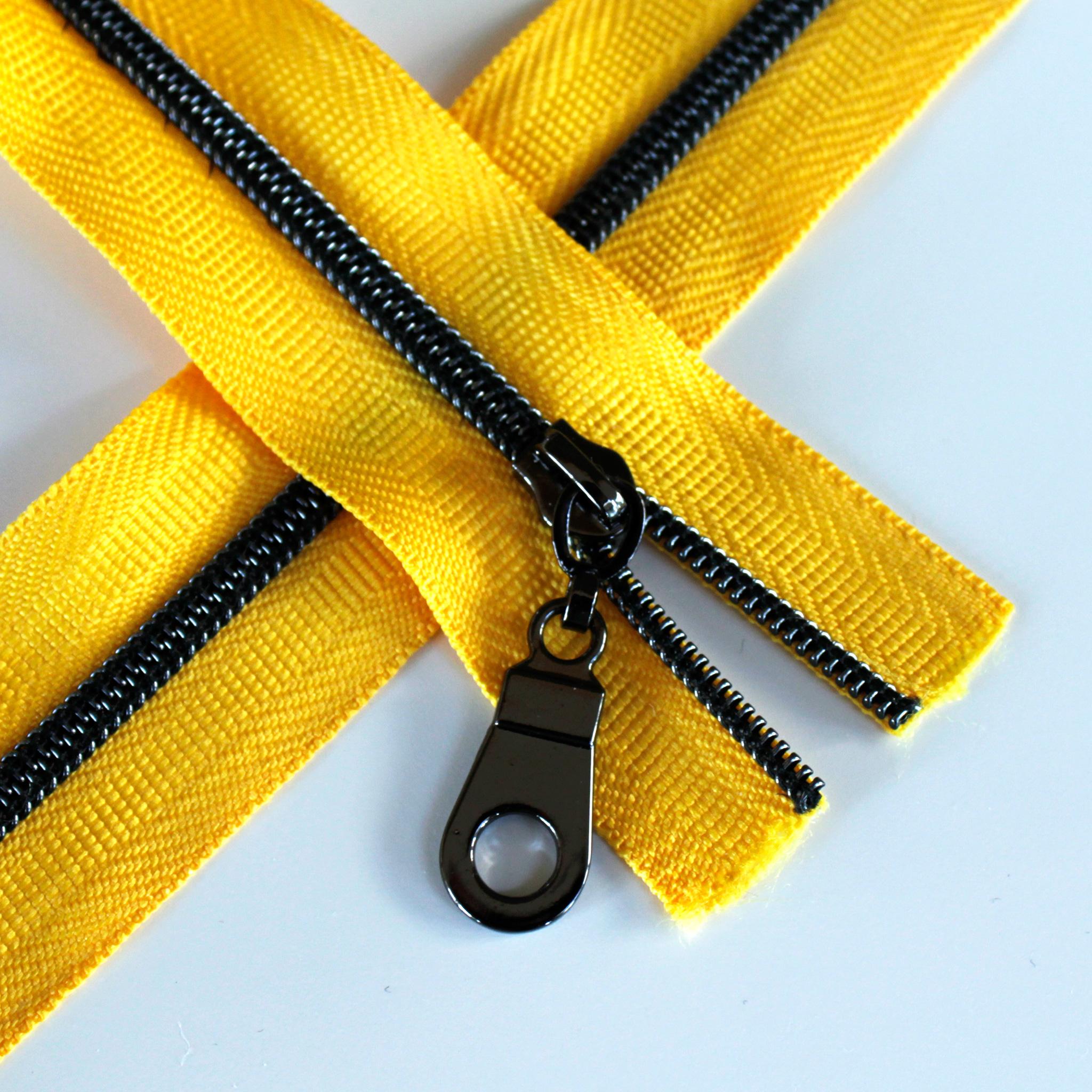 #3 Sunflower Yellow - Gunmetal