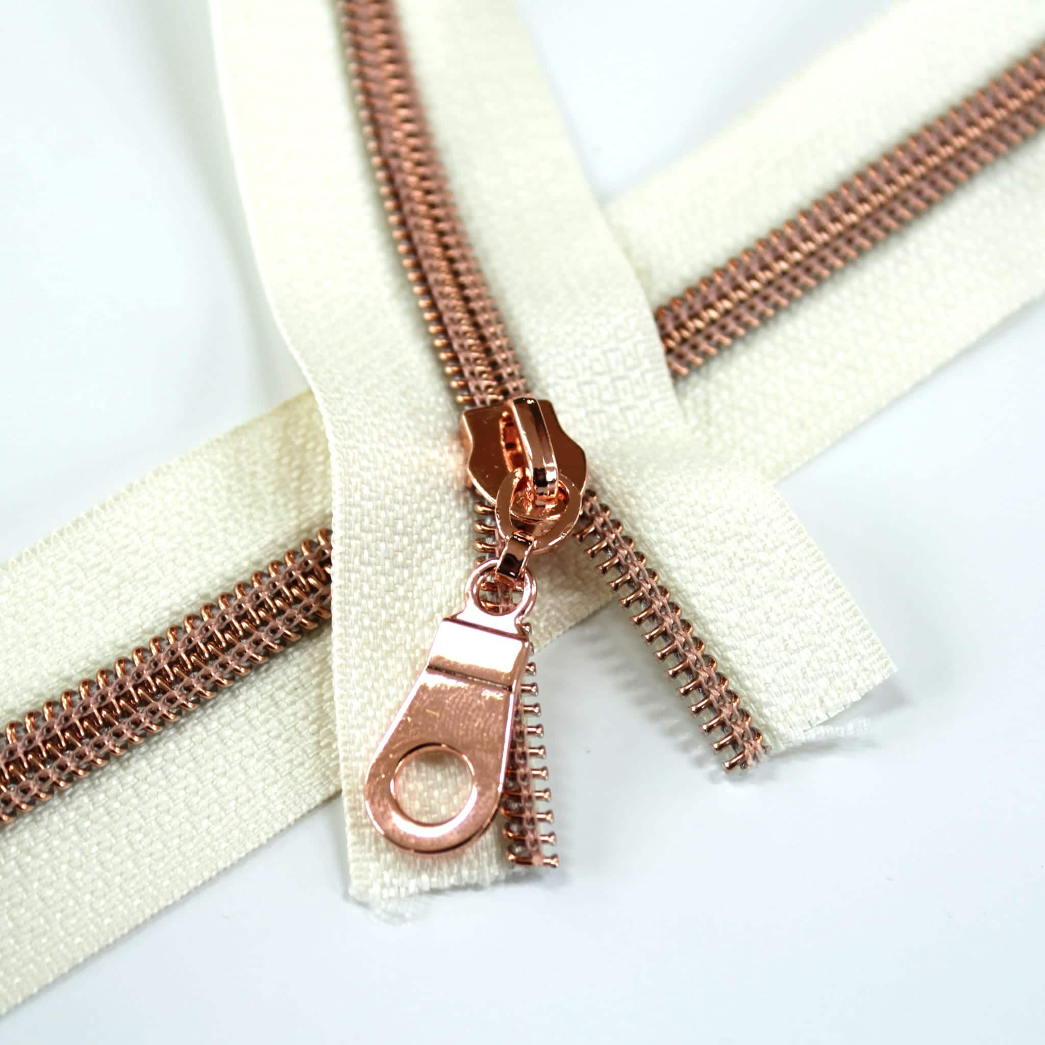 #5-Nylon-Coil-Zipper-ivory-with-rose-gold-teeth