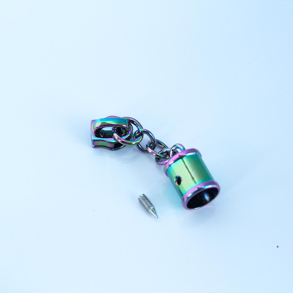 #5 hanging tassel pulls rainbow