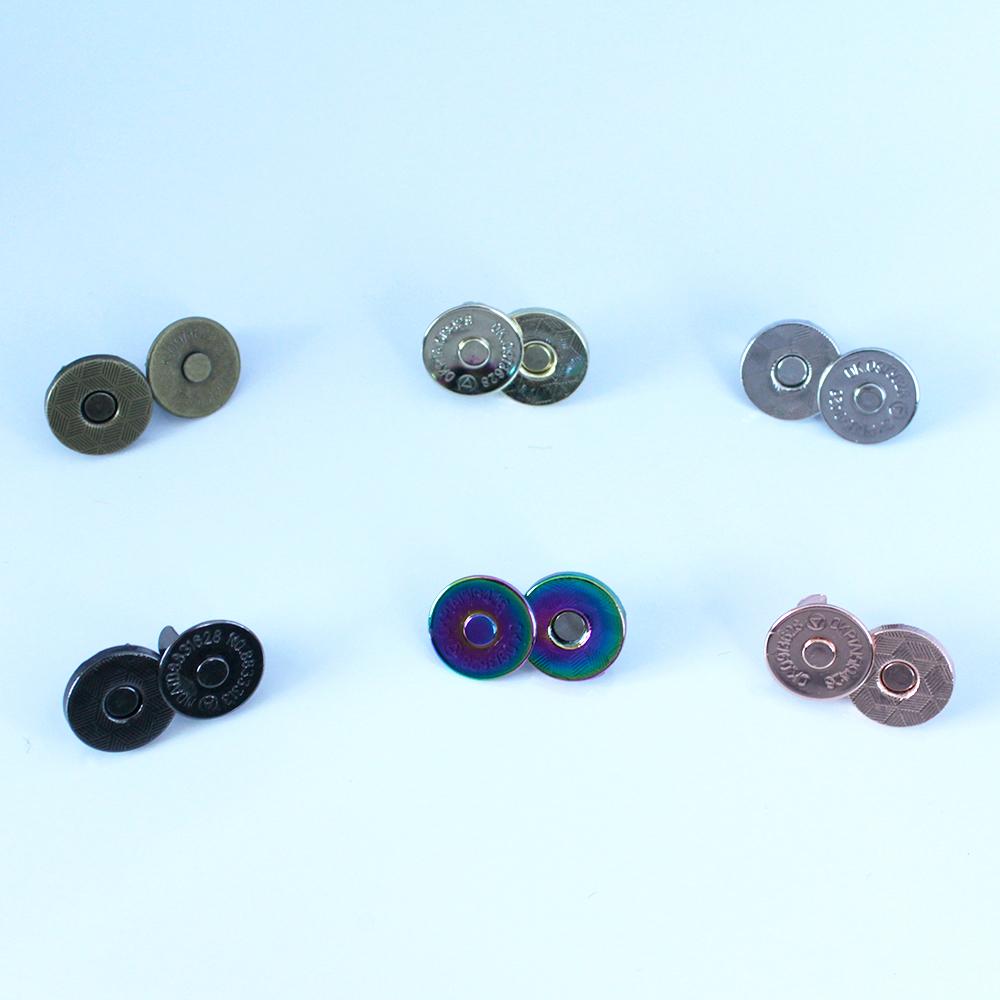 14 mm slim magnetic snaps