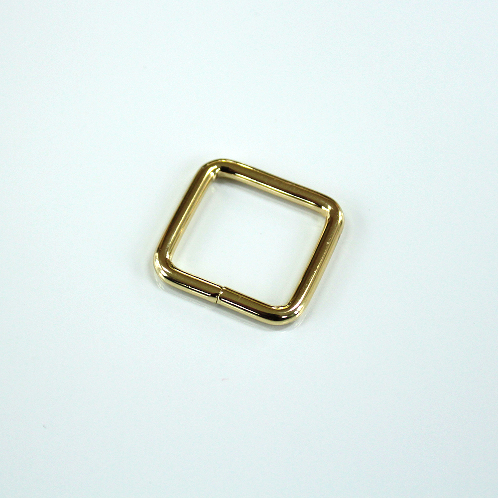 3_4-rectangle rings - gold