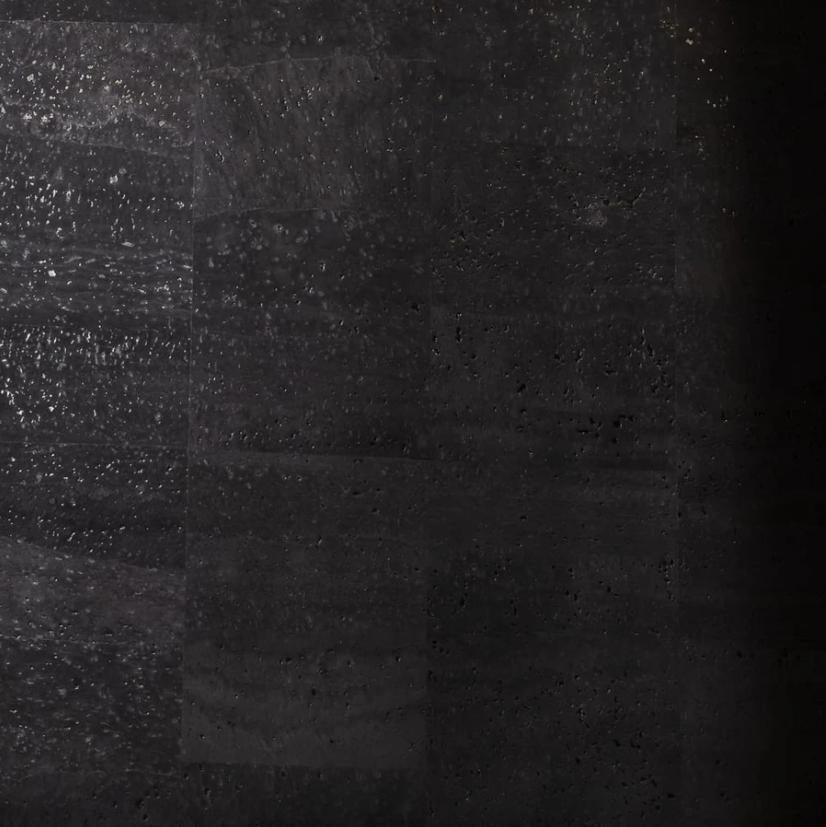 Cork Fabric – Black