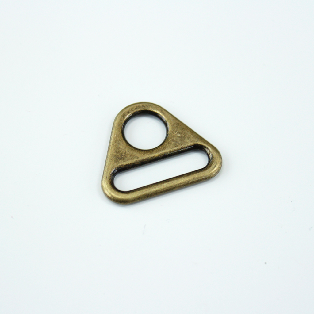 1-Triangle-Rings - antique bronze