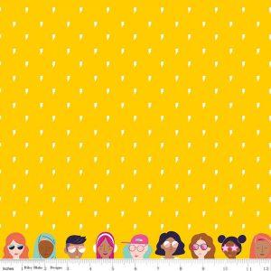 Grl Pwr Lightning Yellow