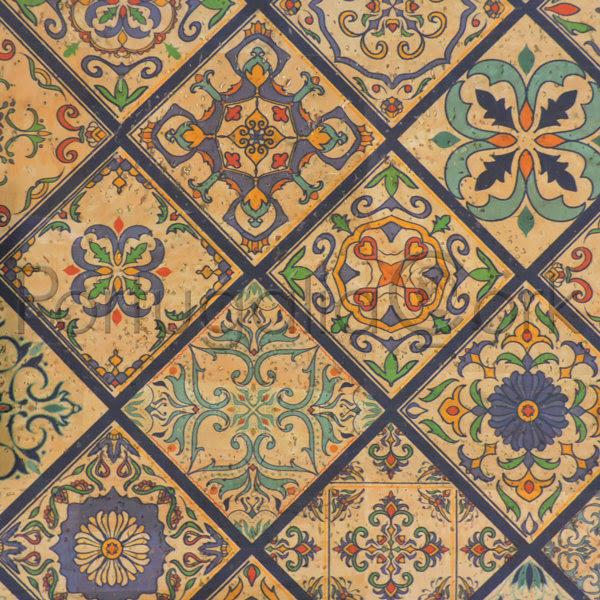 Cork Fabric – Tiles Valencia