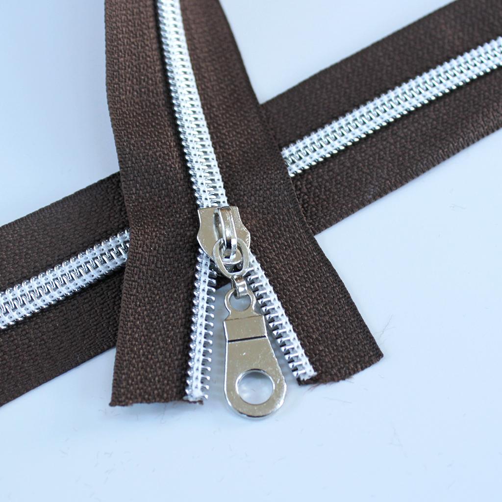 #5-chocolate-brown-zipper-silver-coil