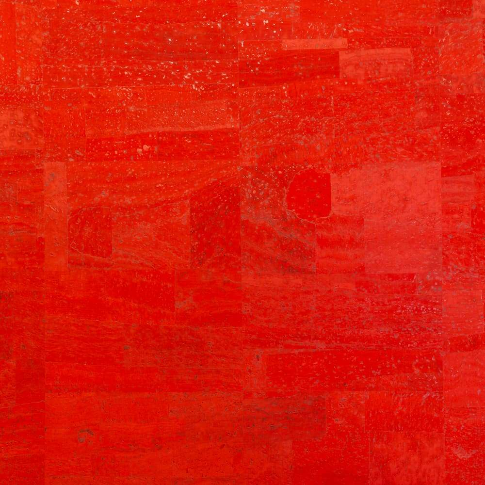 Cork Fabric – Candy Red