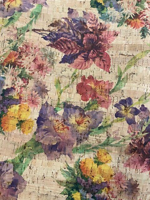 Cork Fabric – Violets Garden