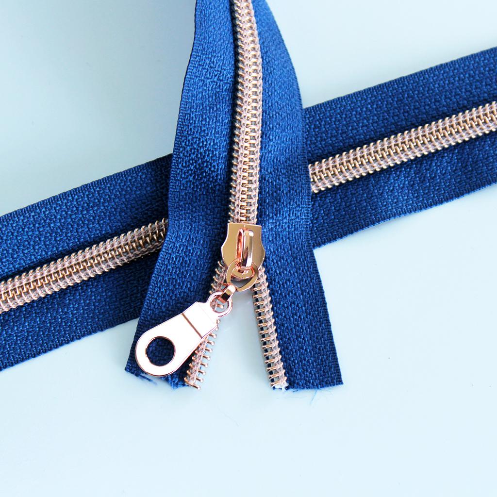 Jean Blue-Rose Gold Kit