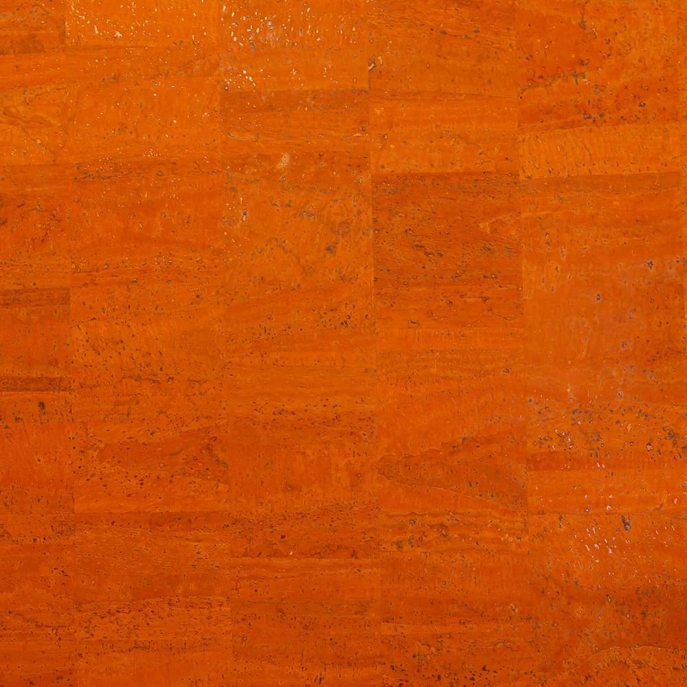 Cork Fabric – Orange