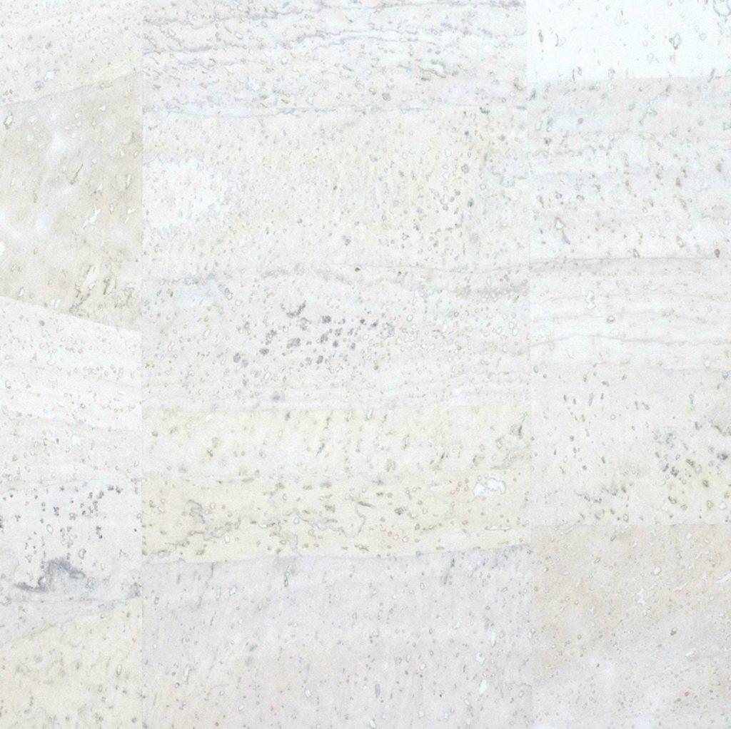 Cork Fabric – White