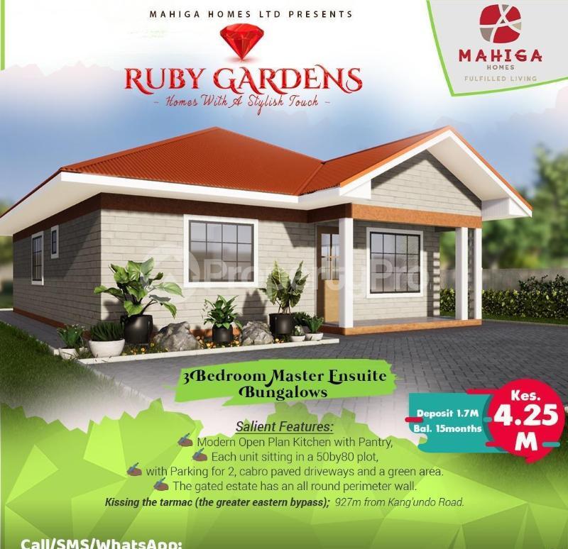 3 bedroom Houses for sale Ruiru, Membley Membley Ruiru - 36