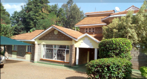 4 bedroom Townhouse for rent ... Rosslyn Nairobi