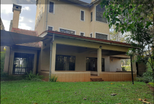 4 bedroom Townhouse for rent Lavington Nairobi