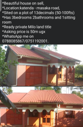 3 bedroom Commercial Property for sale Katenda-masaka road Masaka Central