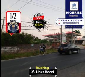 Land for sale links road Nyali Mombasa
