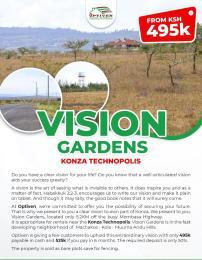 Land for sale Konza Technopolis Day Star Athi RIver Machakos