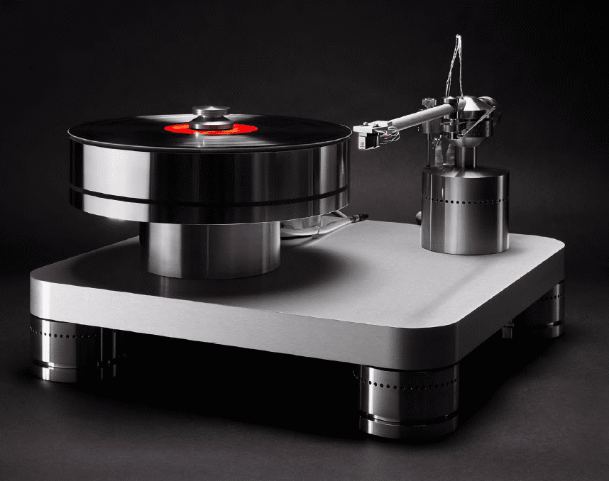 Basis Audio A.J. Conti Transcendence Turntable and SuperArm 12.5 Tonearm -  The Absolute Sound
