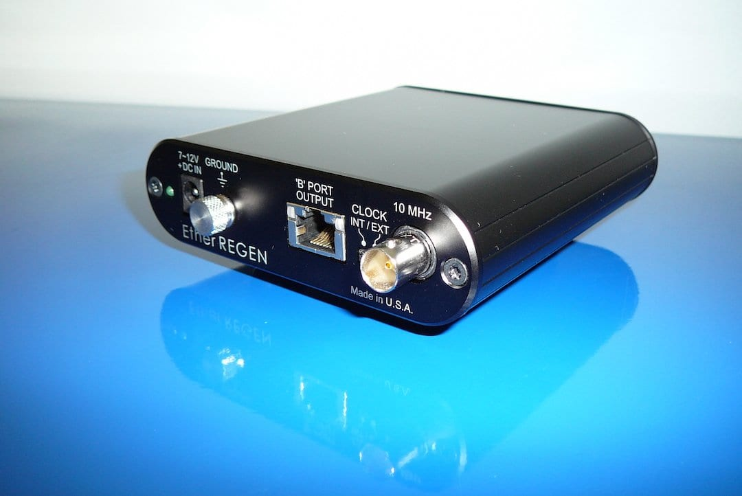 UpTone Audio EtherREGEN Ethernet Switch