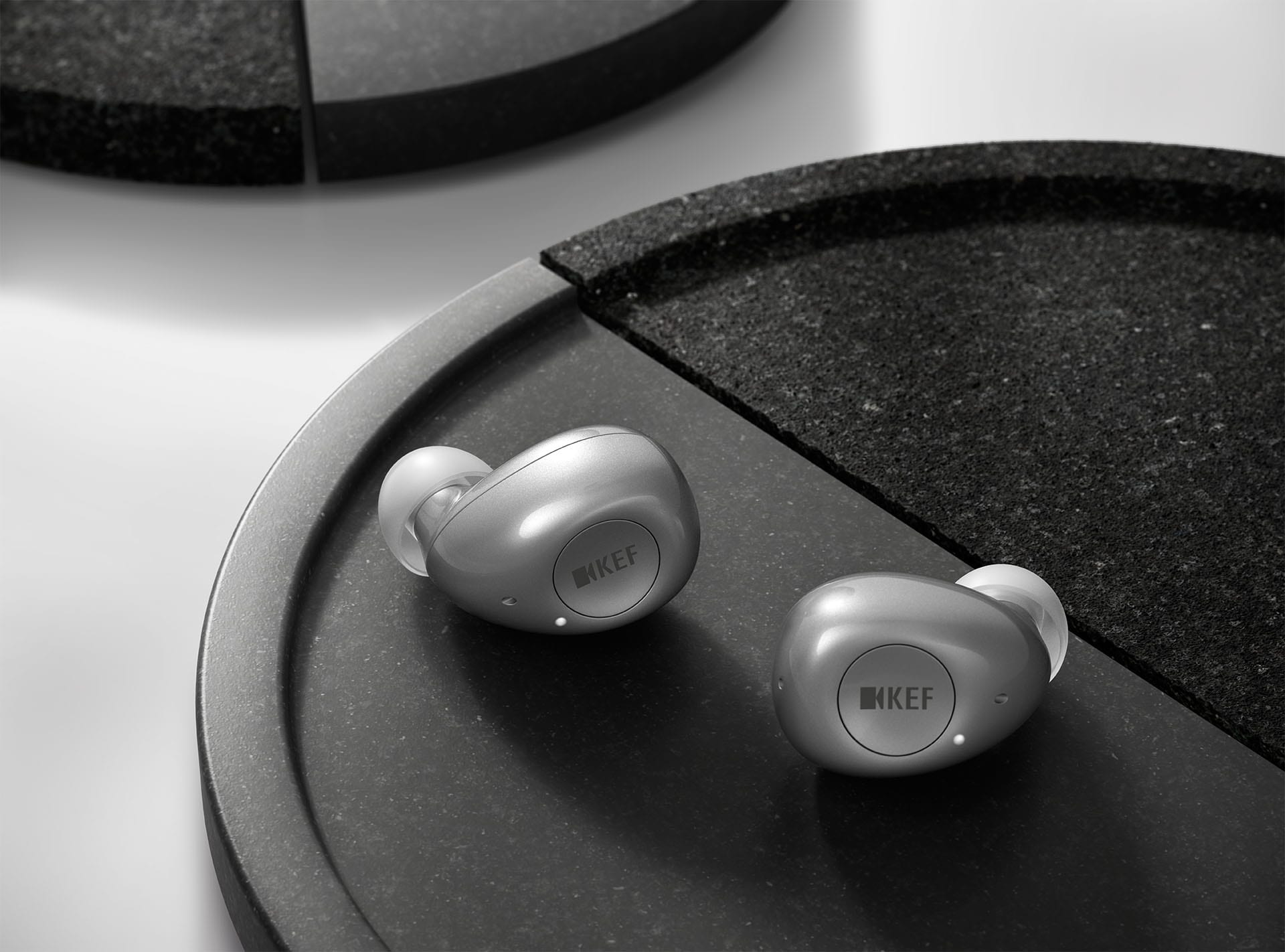 KEF Introduces Mu3 Earphones Designed by Ross Lovegrove