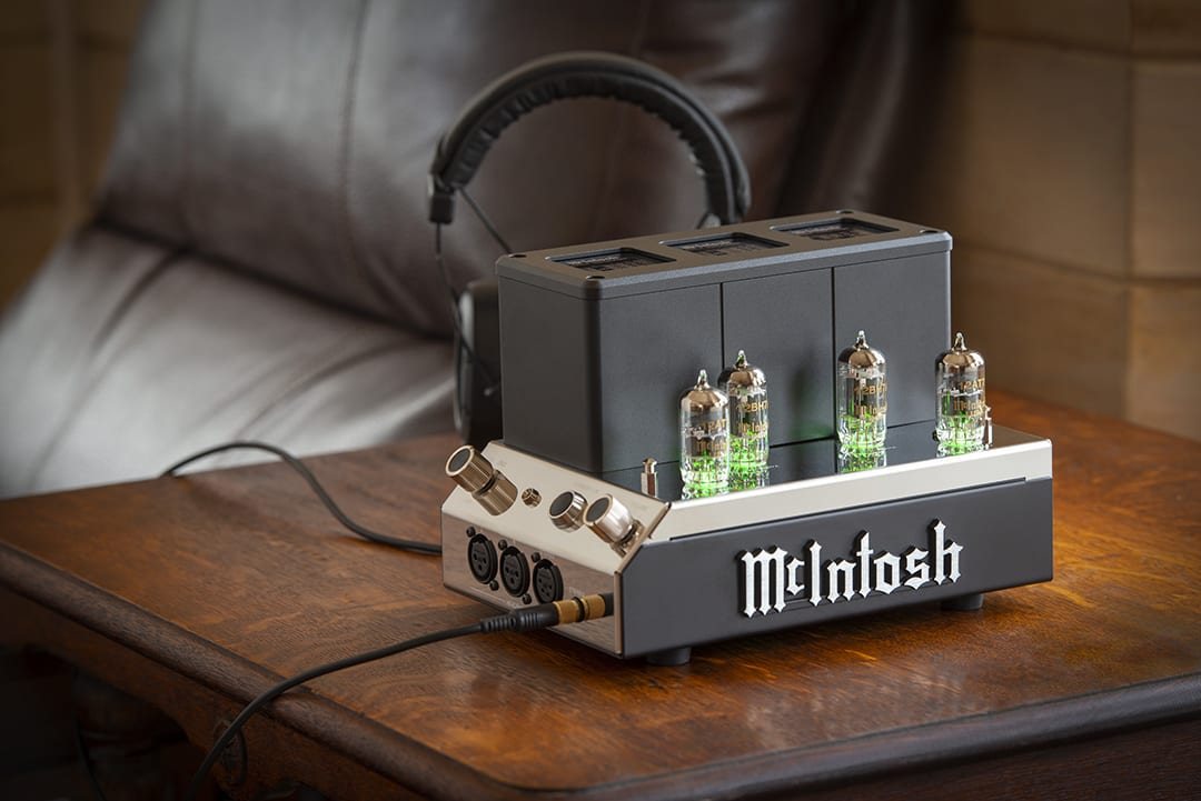 McIntosh Announces MHA200 Vacuum Tube Headphone Amplifier