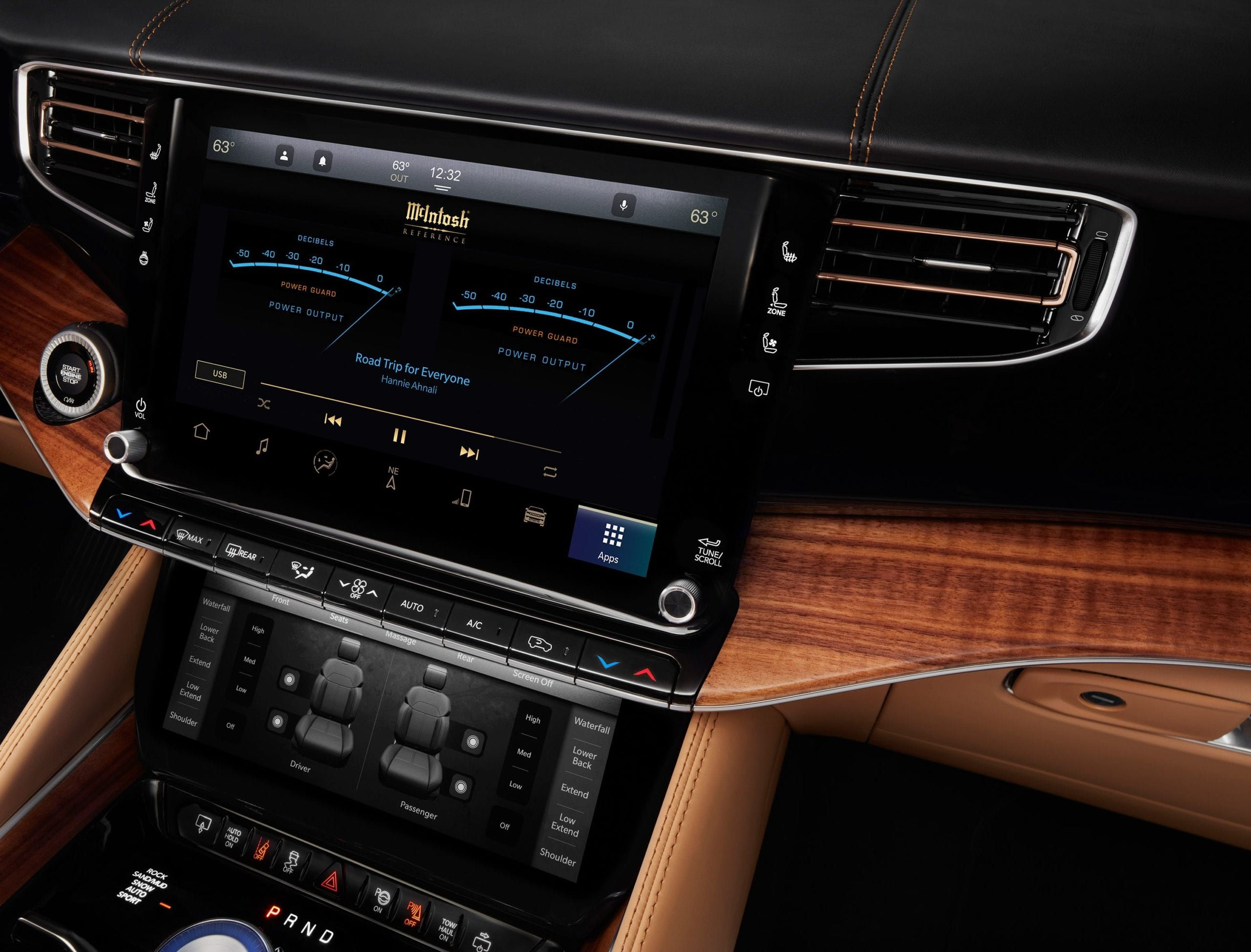 First-Ever Automotive Reference System From Mcintosh Featured in 2022 Grand Wagoneer